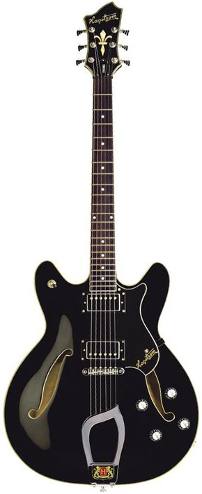 Viking Electric Guitar - Black Gloss