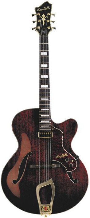 Jazz Model HL-550 - Gloss Natural Mahogany