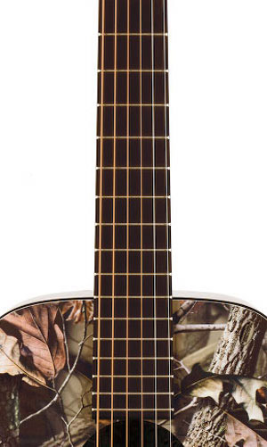Martin LX Realtree HD Fingerboard View