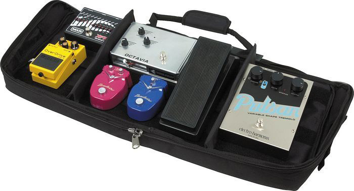 Electro Harmonix Pedal Bag Example View