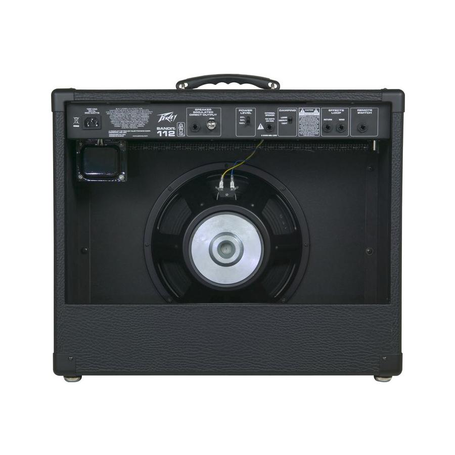peavey bandit 112 80 watt 1x12 guitar combo amplifier new ebay. Black Bedroom Furniture Sets. Home Design Ideas