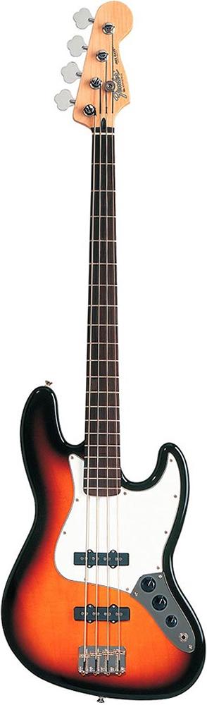 Standard Jazz Bass® Fretless - Brown Sunburst - Rosewood