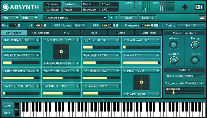 Native Instruments Absynth 4 Interface View