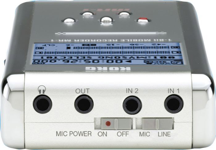 Korg MR-1 Refurbished Rear View