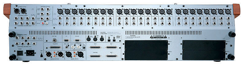 Tascam DM-4800 Rear View