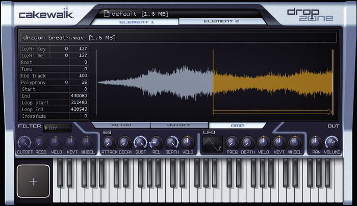 Cakewalk Sonar 6 Home Studio Edition Interface View 3