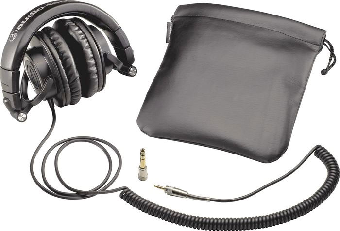 Audio Technica ATH-M50 Black Included Accessories