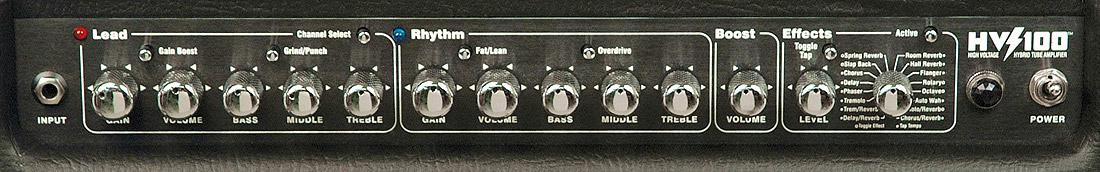 Kustom HV100TControl Panel View