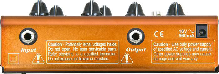 Seymour Duncan SFX-03 Twin Tube Classic Rear View