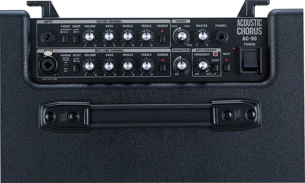 Roland AC-90 Top View
