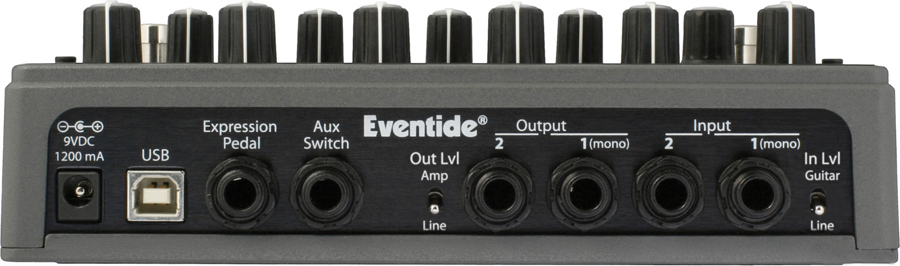 Eventide TimeFactor Rear View