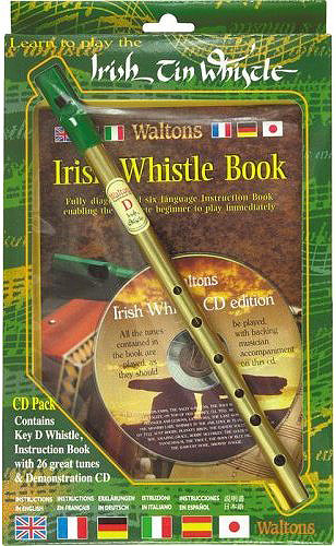 Irish Tin Whistle CD Pack