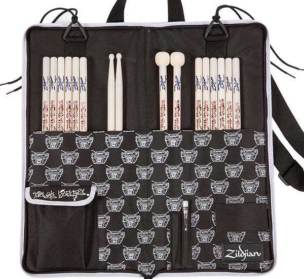Zildjian Signature Stick Bag - Travis Barker Open View