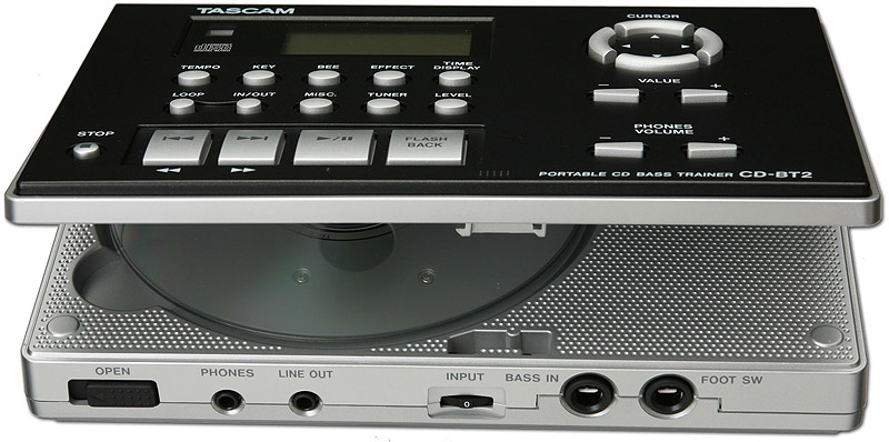Tascam CD-BT2 Open View