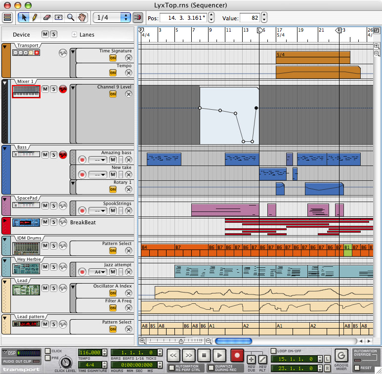 Propellerhead Reason 4.0 - Upgrade From any Previous Full Version Example View 4
