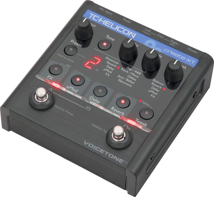 TC Helicon VoiceTone Create XT Angled View