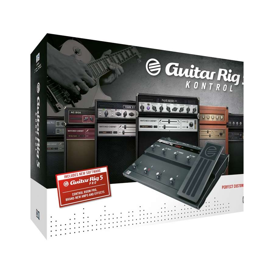 Native Instruments Guitar Rig 5 Kontrol Edition Box, Right Facing