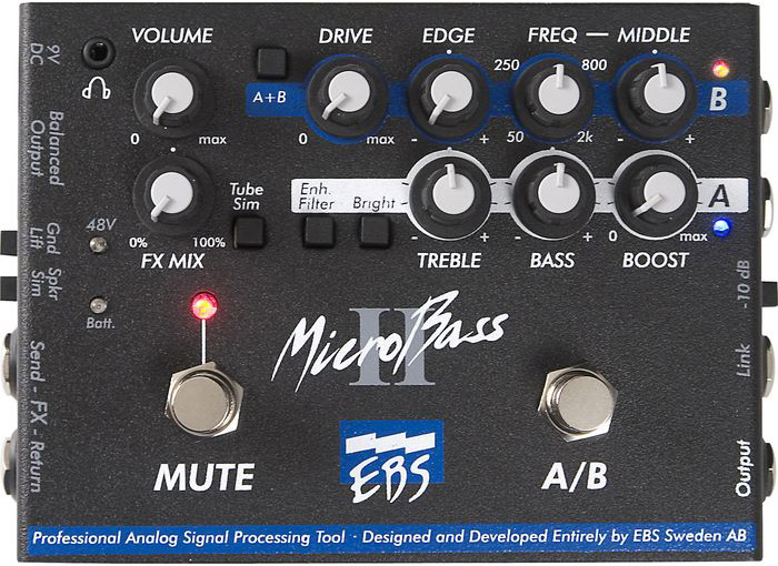 MicroBass II Pro Bass Preamp