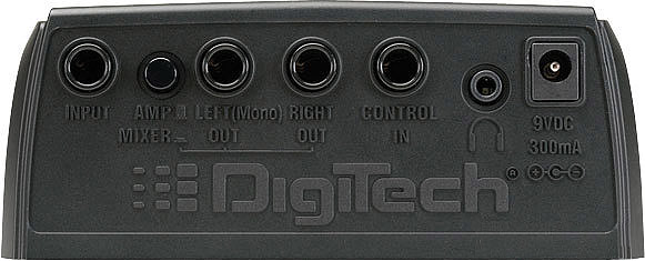 Digitech RP70 Rear View