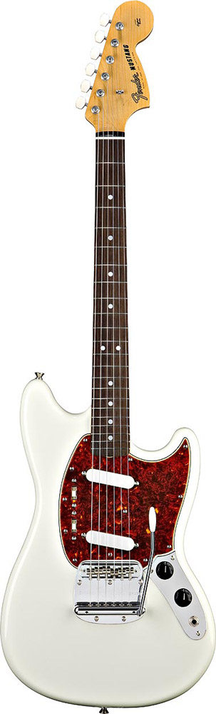 Fender 65 Mustang® Reissue Olympic White