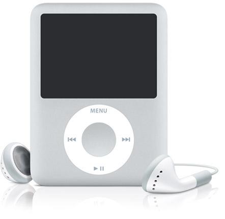 iPod Nano - 4GB G3 Silver