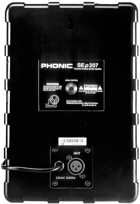 Phonic SEp 207 Rear View