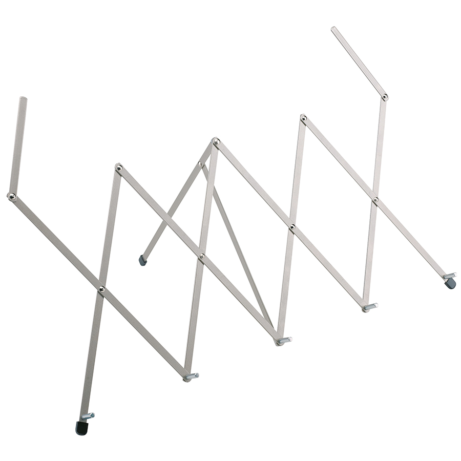 124 Expandable Tabletop Music Stand - Nickel
