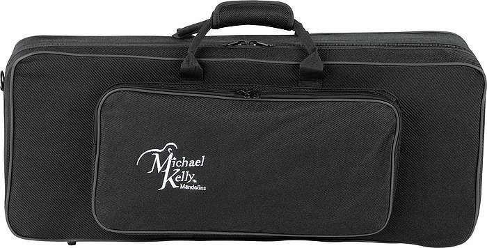 Armored Feather Mandolin Case - Black Tweed
