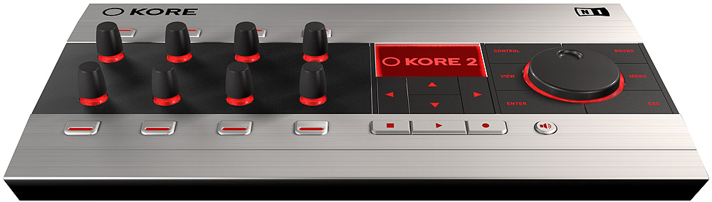 Native Instruments KORE 2 Hardware View