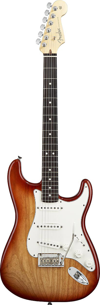 American Standard Stratocaster® - Sienna Sunburst with Case - Rosewood