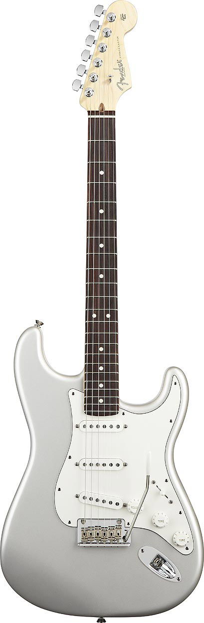 American Standard Stratocaster® - Blizzard Pearl with Case - Rosewood