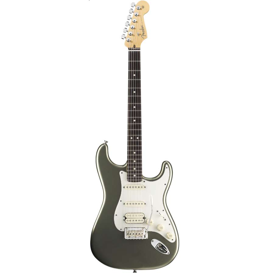 American Standard Stratocaster HSS Jade Pearl Metallic with Case - Rosewood