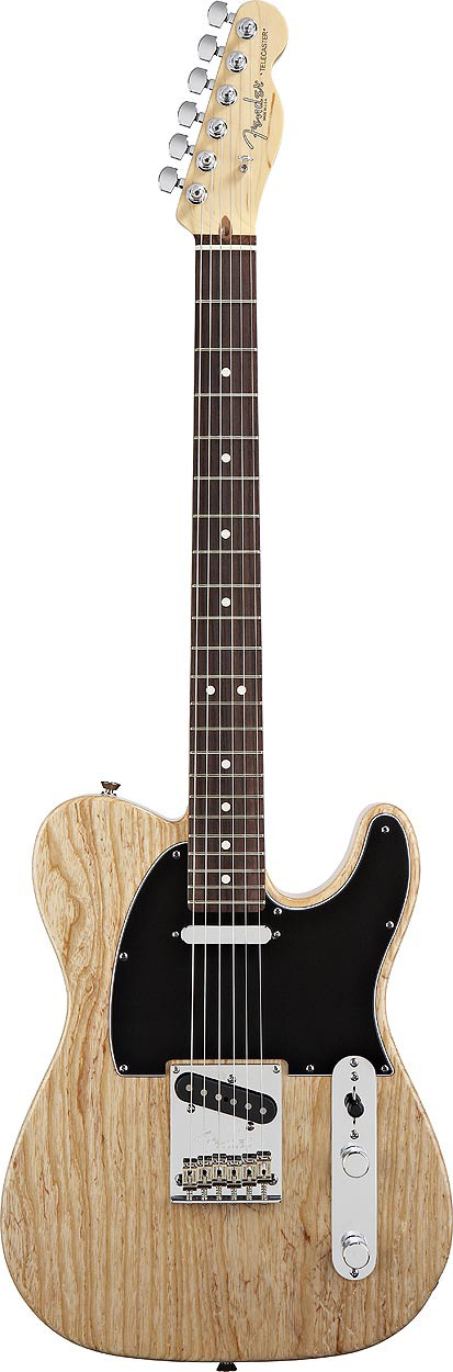 American Standard Telecaster - Natural with Case - Rosewood