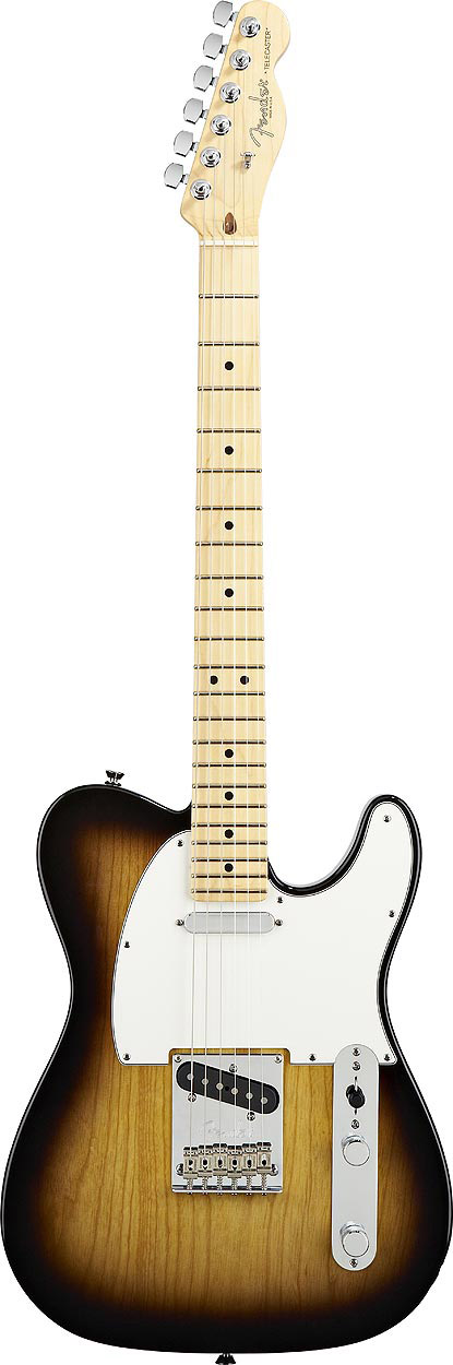 American Standard Telecaster® - 2-Color Sunburst with Case - Maple