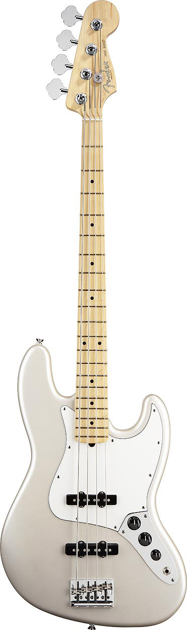American Standard Jazz Bass® - Blizzard Pearl with Case - Maple