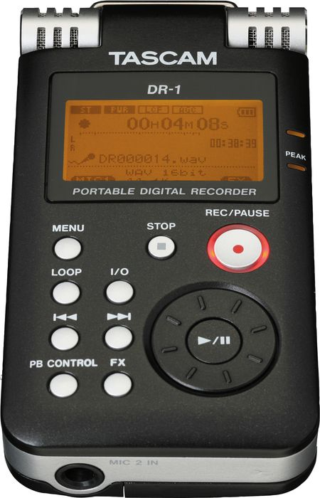 Tascam DR-1View 5