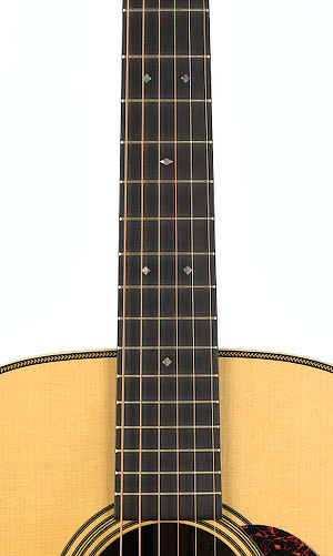 Martin D-28 Marquis - Natural Fingerboard View