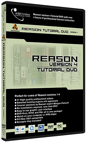 Reason 4.0 DVD Tutorial