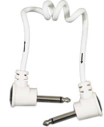 Koil Kord™ Cable - White 1 Foot