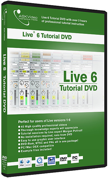 Live Tutorial DVD