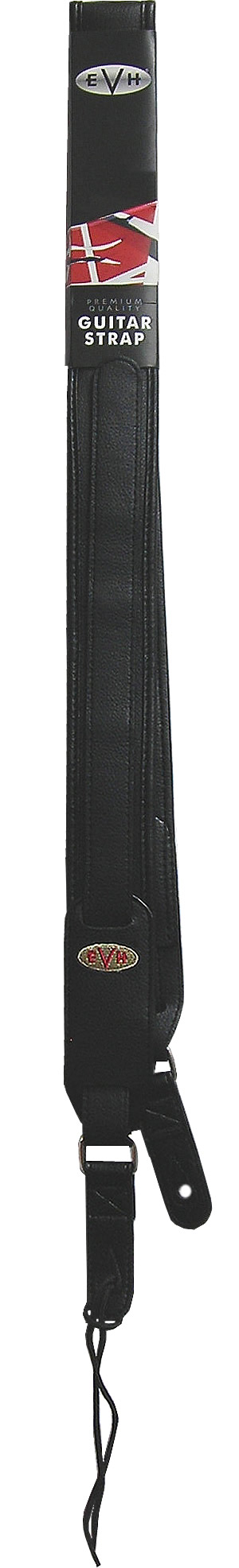 Premium Leather Signature Guitar Strap Black