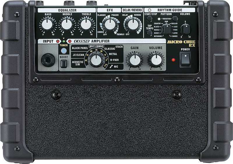 Roland Micro Cube RX - Black Top View