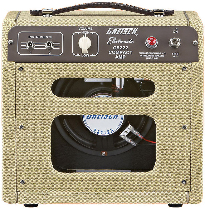 Gretsch G5222 Guitar Amplifier Rear View