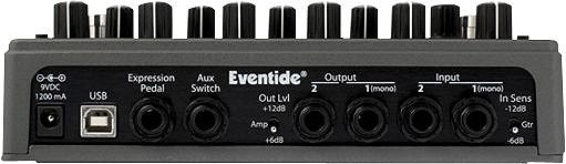 Eventide ModFactor Rear View
