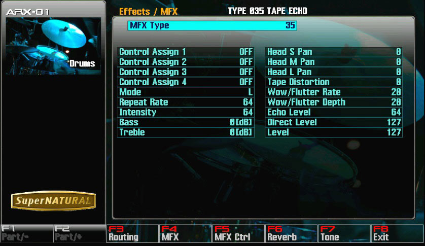 Roland ARX-01 Screenshot View 2