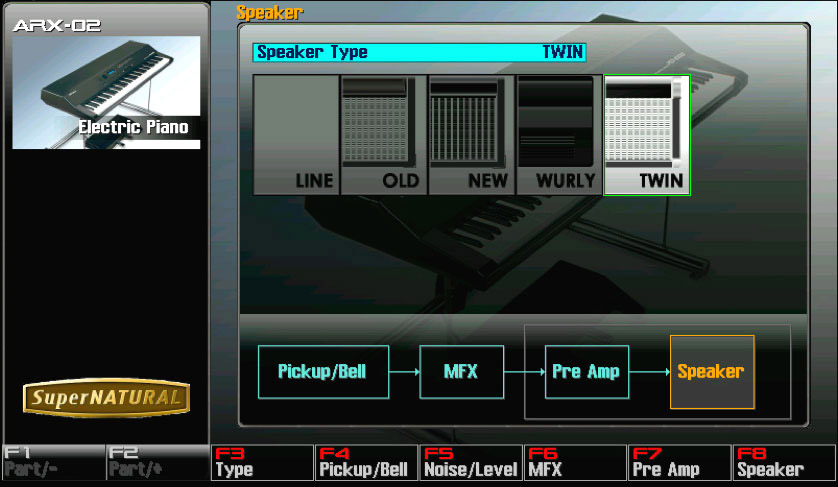 Roland ARX-02 Screenshot View 2