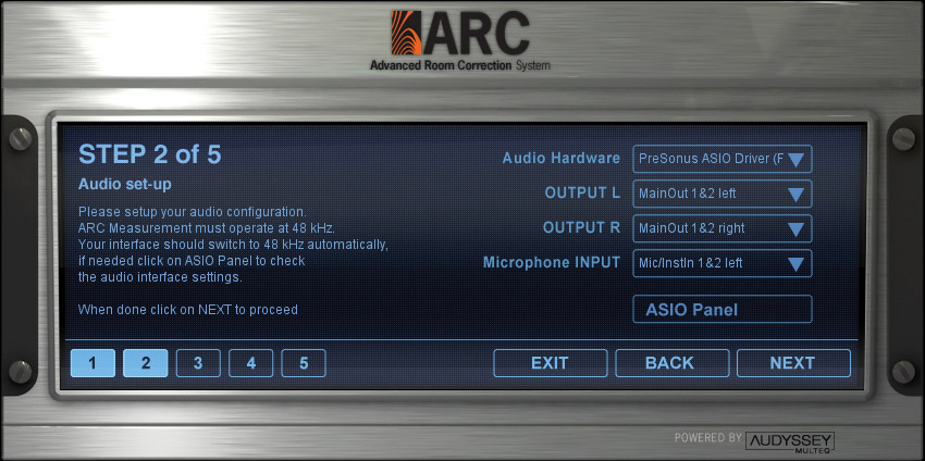 Ik Multimedia ARC Crossgrade Interface View 2