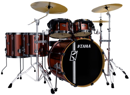 Superstar Hyper Drive 5-Piece Drum Kit - Copper Mist Metallic