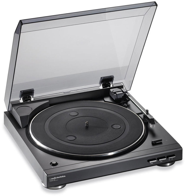 Audio Technica AT-LP2D-USB Turntable View