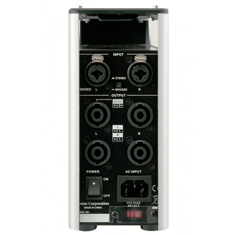 Vestax VDA-1000 Rear View